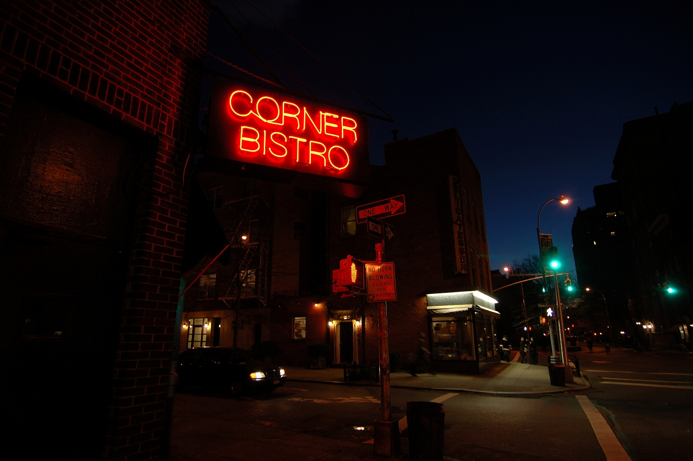 Corner bistro the best restaurants in nyc smart for Warm getaways from nyc