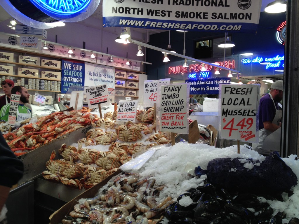 Pike place market what to do in seattle smart getaways for Pike place fish