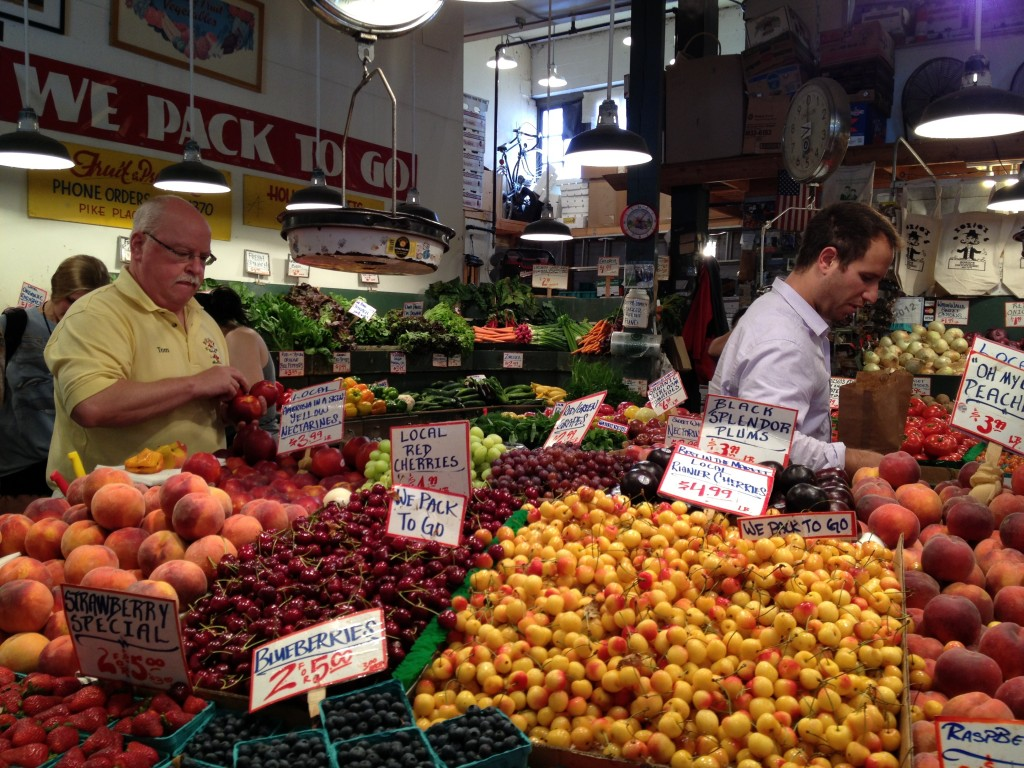 pike place fruit